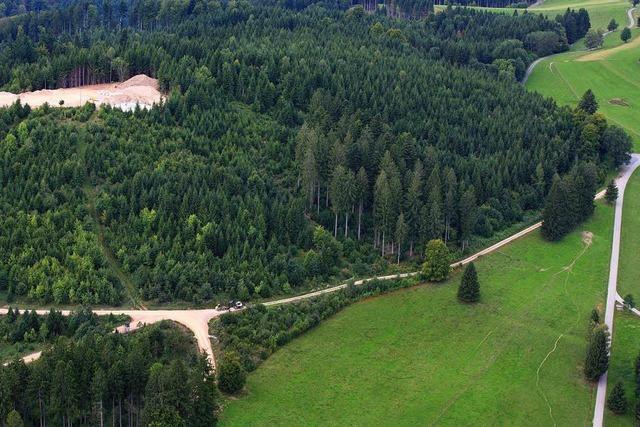 Windpark-Lkws ignorieren Schopfheimer Wegsperrung