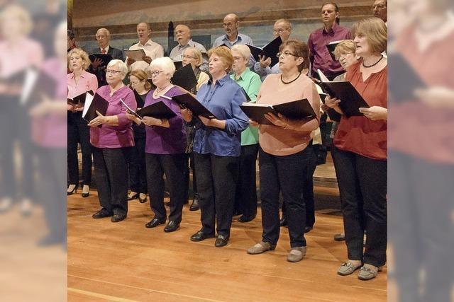 Gemischter Chor Amrigschwand und Katholischer Kirchenchor in Höchenschwand