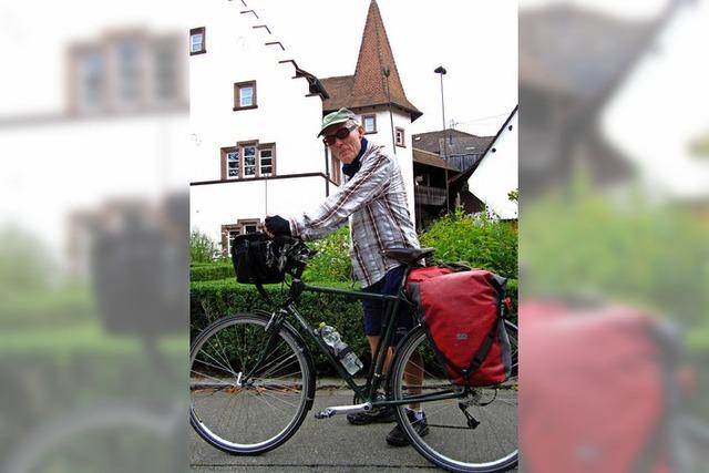 80-Jähriger radelt von Hamburg über Weil nach Konstanz