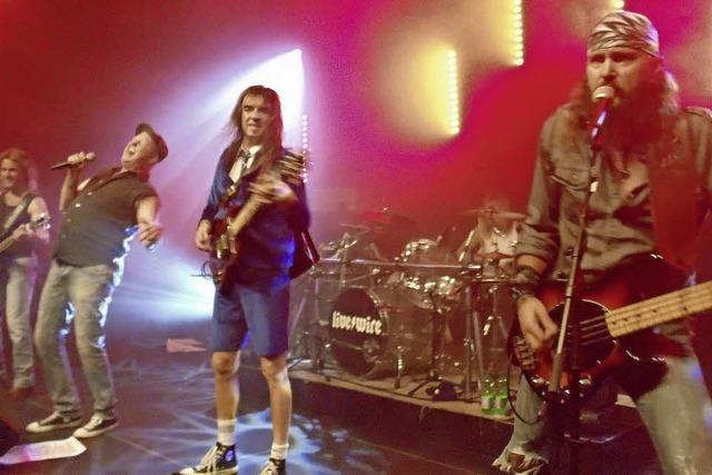AC/DC-Rock in Laufenburg