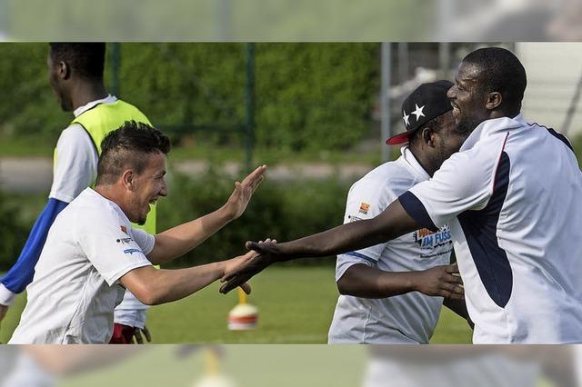 Fußball und Integration beim Polizei-Sportverein