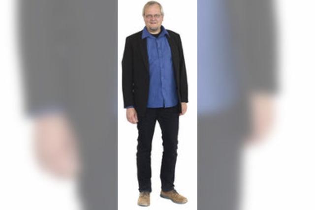 Tobias Pflüger (Die Linke) im Wahlkreis 281 Freiburg