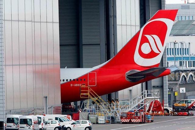 Bei Air Berlin sind plötzlich alle krank