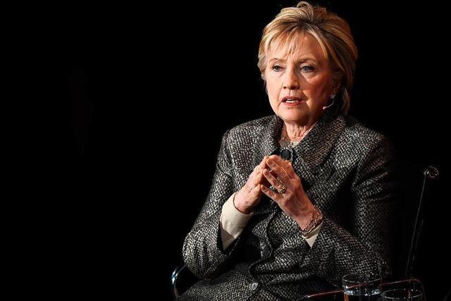 Wie Hillary Clinton ihre Wahlniederlage aufarbeitet