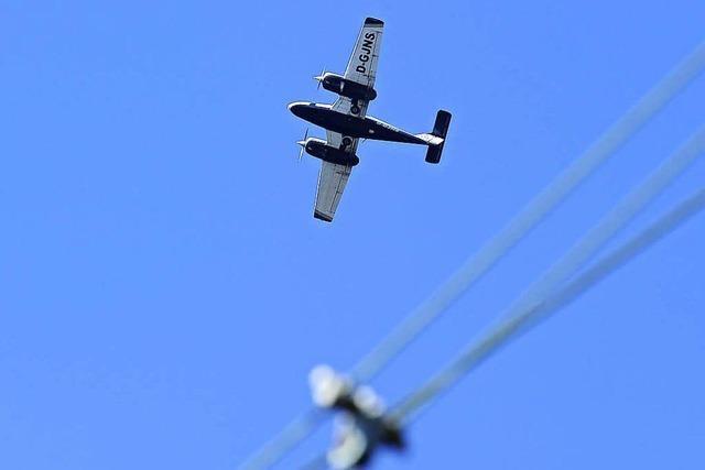 Flugzeug aus Donaueschingen stürzt ab, zwei Tote