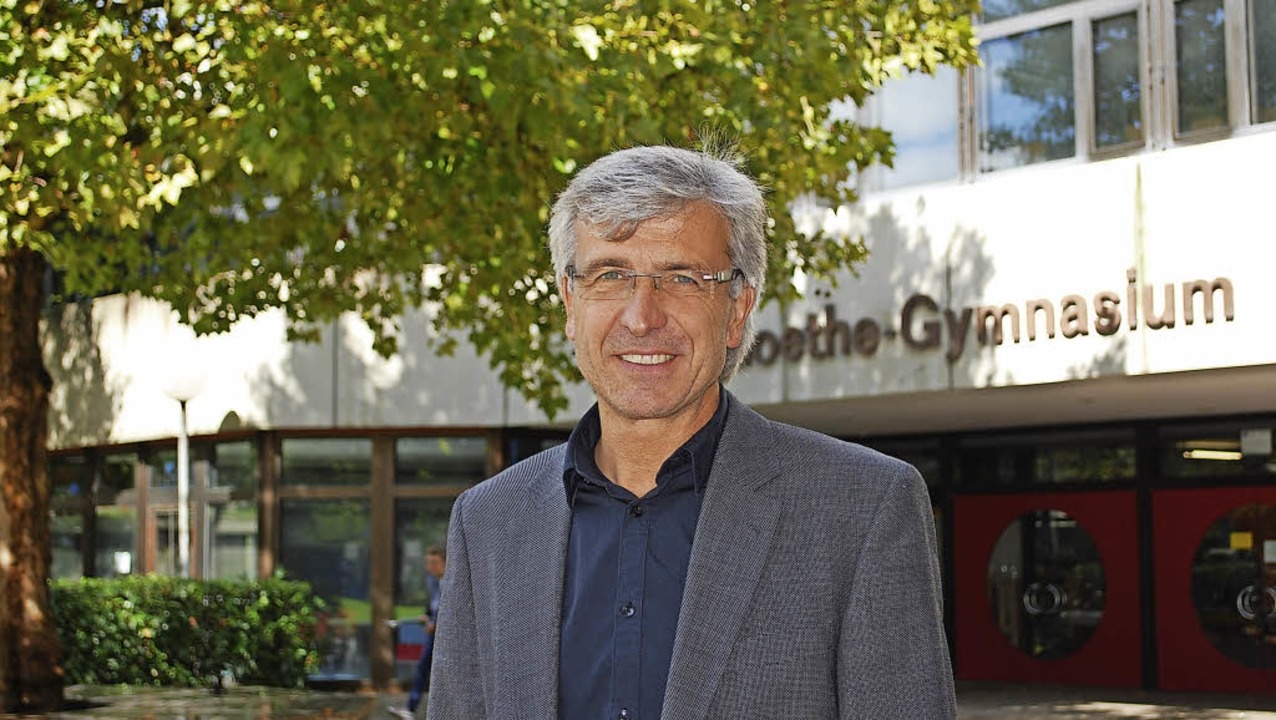 Ulrich Schmidt ist neuer Schulleiter des Goethe-Gymnasiums.  | Foto: Sylvia-Karina Jahn