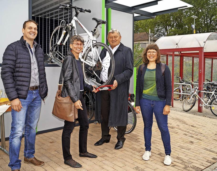 Mehr Abstellmöglichkeiten und neue, ab...hrradbeauftragte des Kreises Lörrach.   | Foto: Hartenstein