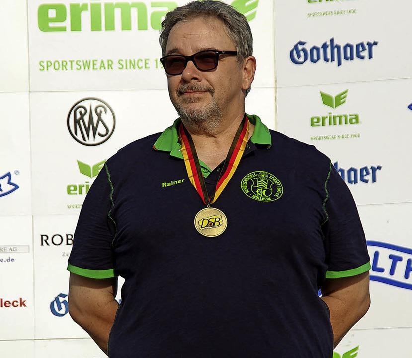 Bronzemedaillengewinner Rainer Nusser   | Foto: Privat