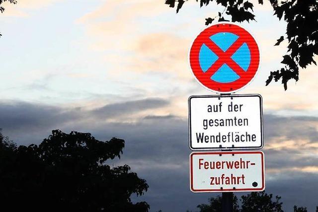 Weil am Rhein: Polizei greift im Nonnenholz durch