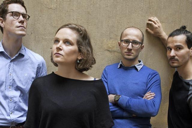 Das Eva Klesse Quartett beim Freiburger Jazzfestival