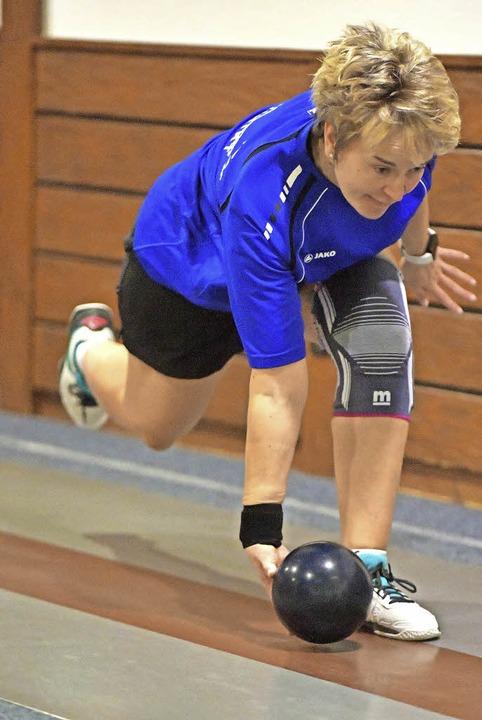 Bettina Helmle ist erfahren, routinier...für den SKV konstant gute Leistungen.   | Foto: Scheu