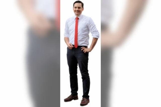 Johannes Fechner (SPD) im Wahlkreis 283 Emmendingen-Lahr