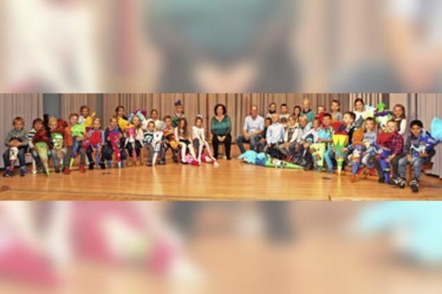 33 Schulanfänger an der Sommerberg-Schule Lenzkirch