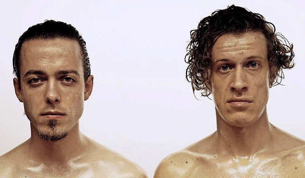 Luke (Lukas Derungs, links)  und Face (Johannes Fäßler)     | Foto: privat