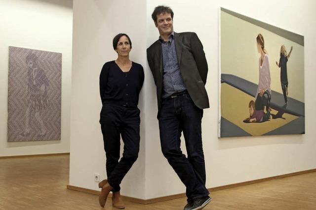 Der Kunstverein Offenburg zeigt Arbeiten von Ruth Bussmann und Andreas Lau