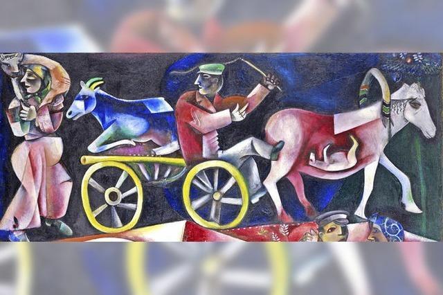 Kunstmusuem Basel zeigt bis Januar 2018 Werke von Marc Chagall