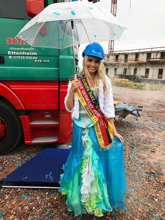 Miss Germany im authentischen Wasserwelt-Look    Foto: Charlotte Janz