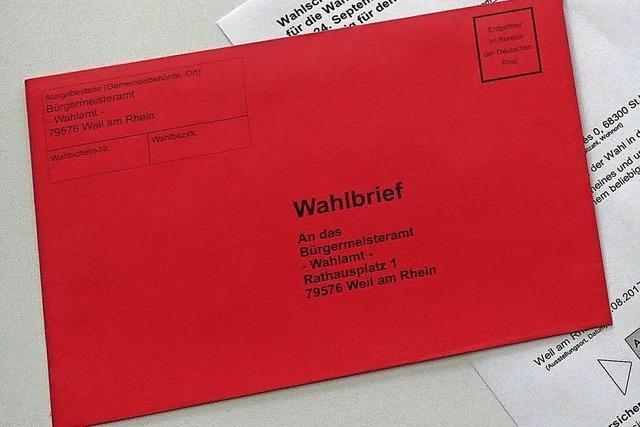 Mehr Bürger fordern Briefwahl an