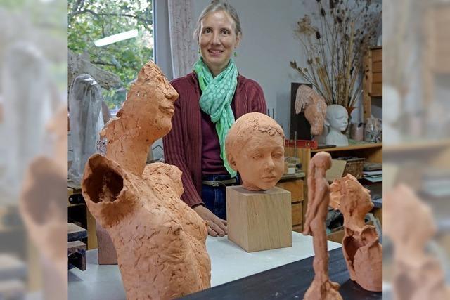 Rheinfelden: Bildhauerin Mirjam Bucher Bauer ist bei den