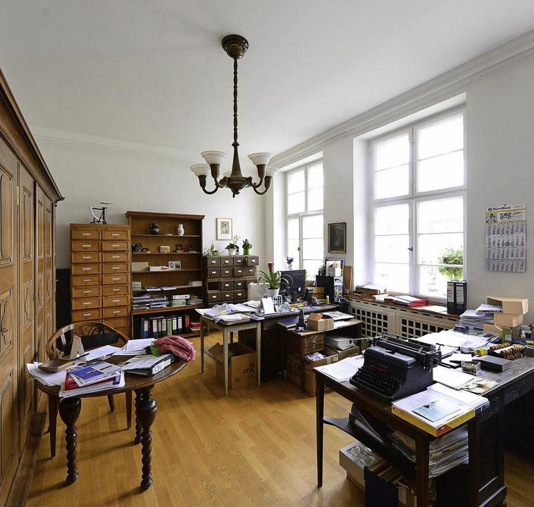Einst Schreibstube, jetzt Büro  | Foto: Ingo Schneider
