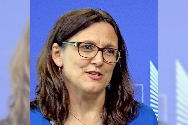 Brüssel dringt trotz aller Kritik auf mehr Freihandel