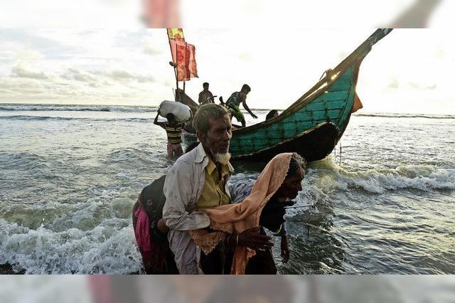 400 000 Rohingya auf der Flucht
