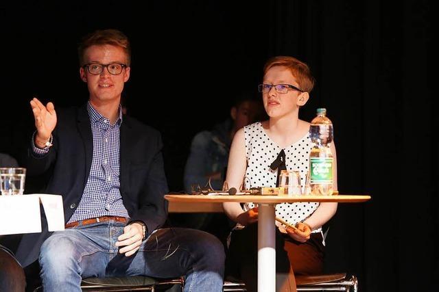 Lahrer Gymnasiasten stellen das TV-Duell in den Schatten