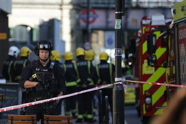 In der Londoner U-Bahn soll es eine Explosion gegeben haben – mehrere Verletzte