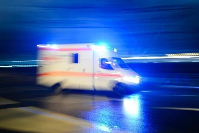 Autofahrerin verunglückt in Hochdorf und ist schwer verletzt