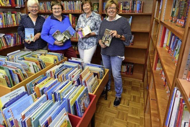Vier Bücherfrauen feiern Jubiläum