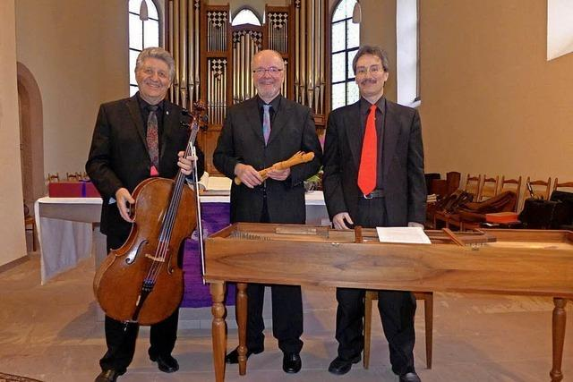 Telemann-Konzert mit der Musica Antiqua Basel in Ötlingen