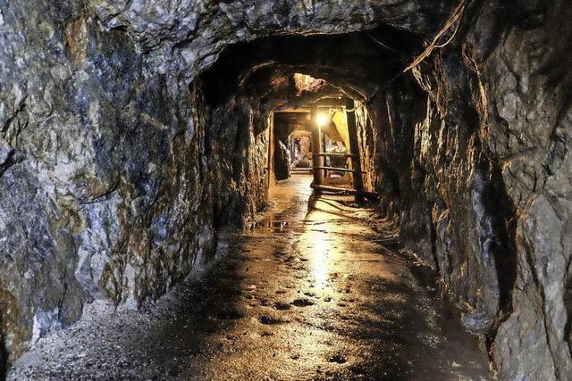 Geologische Sonderführungen im Bergwerk Finstergrund in Wieden