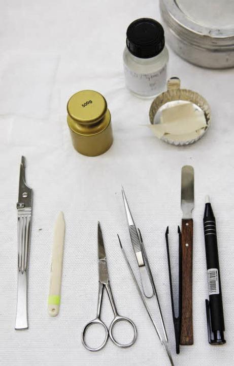 Werkzeug für die Feinarbeit  | Foto: JOSS ANDRES