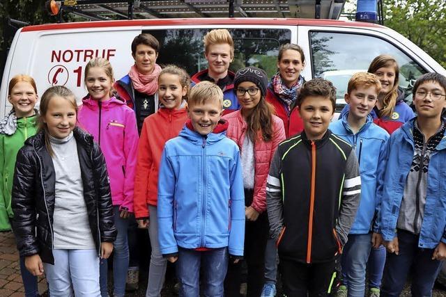 Bergwacht hat eine neue Jugendgruppe