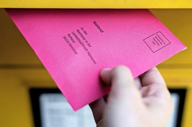 Fast jeder Fünfte wählt die Briefwahl