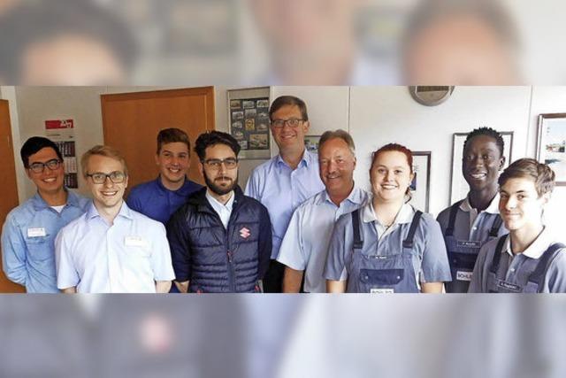 Autohaus Böhler bildet erstmals einen Flüchtling aus