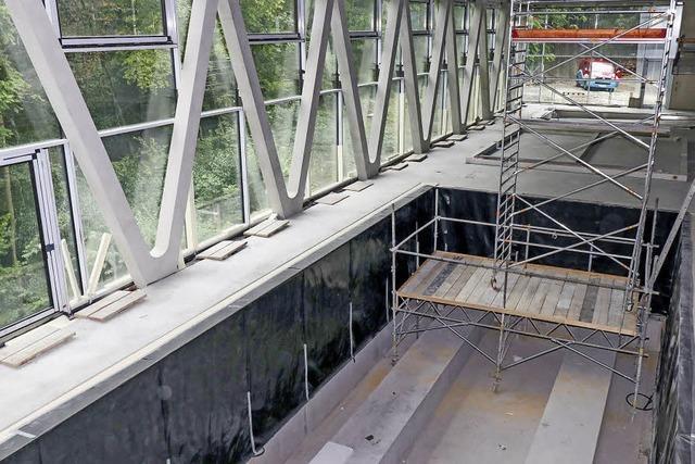 Neue Stadthalle nimmt Form an
