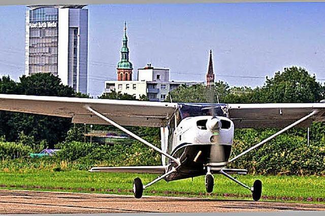 Rundflüge zum Selbstkostenpreis beim Fliegerfest