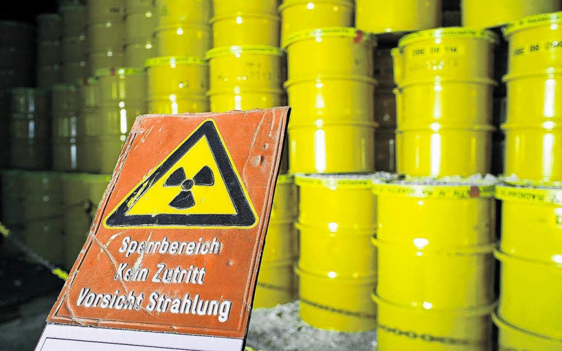 Atomkraft – nein danke. Aber was passiert mit dem Atommüll? (Symbolbild)  | Foto: h