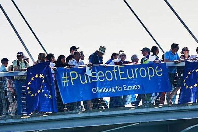 Warum Pulse of Europe in Offenburg nochmal Flagge zeigen wird