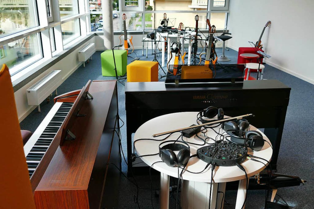 """Silent-Raum"" der Musikschule  | Foto: Sylvia Sredniawa"