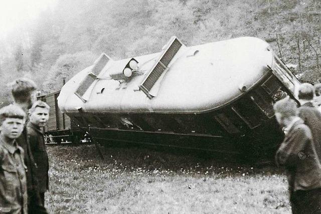 Die obere Wiesentalbahn hat so manchen Unfall, Erdrutsch und Fliegerangriff überstanden