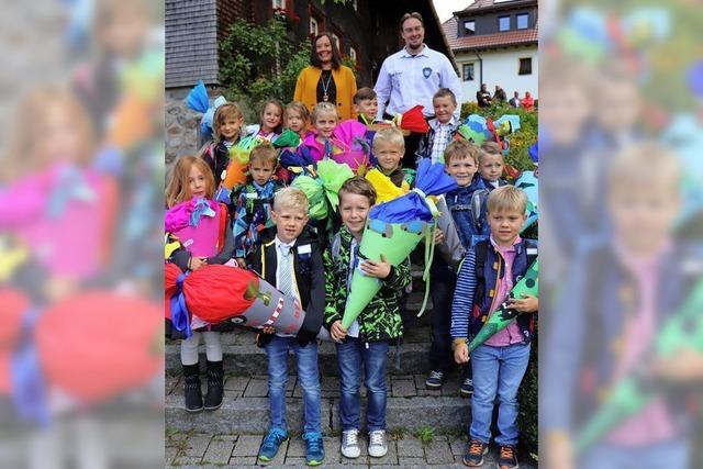 Schulstart in Breitnau