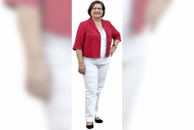 Karin Binder (Die Linke) im Wahlkreis 284 Offenburg