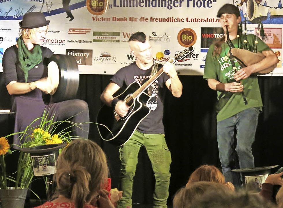 Die Sieger der 10. Emmendinger Flöte: The Green Goblins aus Lörrach  | Foto: Georg Voß