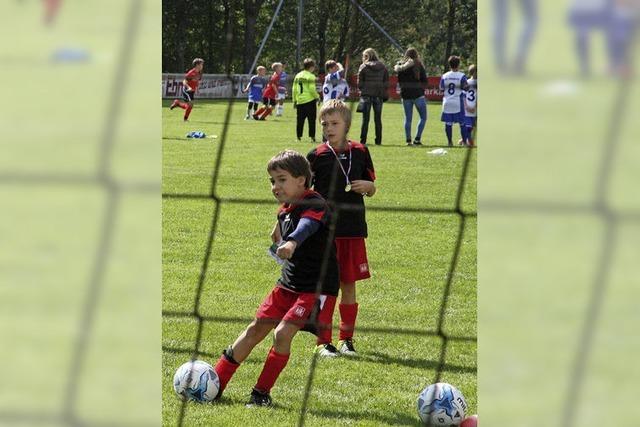 Fußball stand im Mittelpunkt