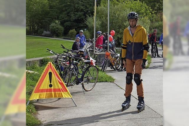 Der Slow up Basel-Dreiland lockt 40.000 Menschen an