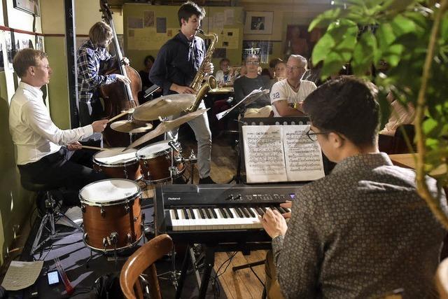 Blaue Brücke zwischen Jazz und Bluegrass