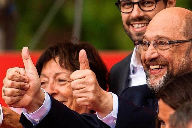 Zurück zum Markenkern: Martin Schulz in Freiburg