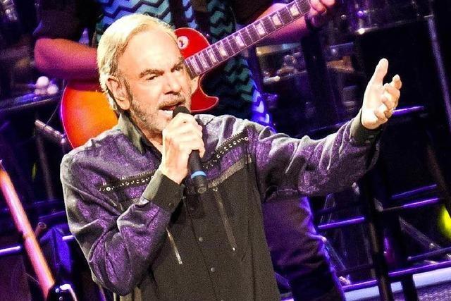 Neil Diamond in Mannheim: Die Zierde einer Karriere
